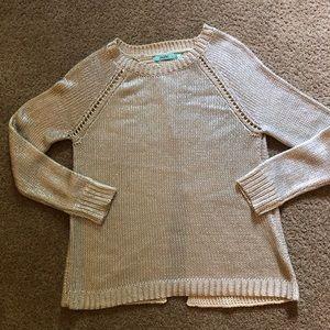 Karlie Metallic Sweater